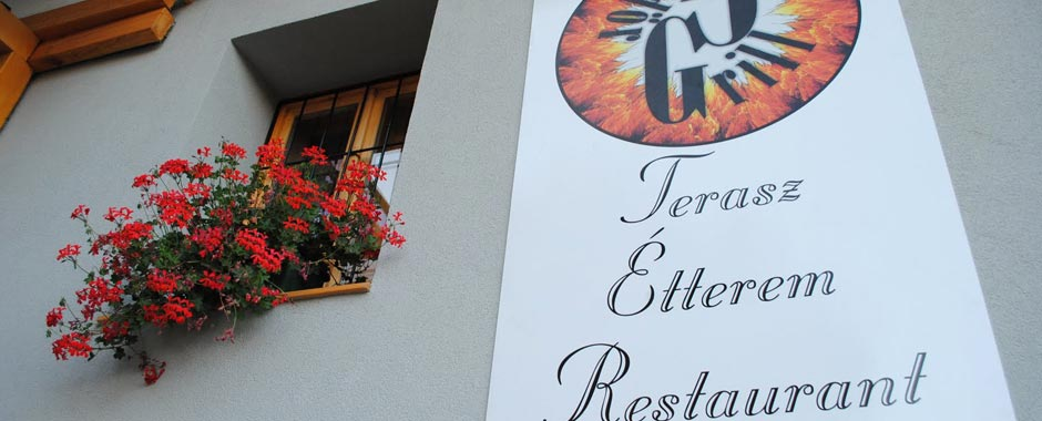 Grill Gödör – Sárospatak | Terasz, Étterem, Restaurant